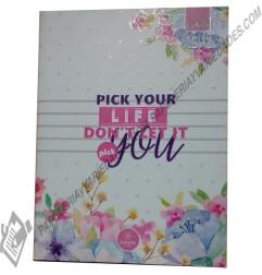 Cuaderno cosido pasta dura lukis