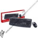 Combo teclado+mouse km-130 genius