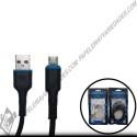 cable tela V8 carga rapida 1mt SG 372