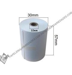 Rollo térmico 57x30 mm