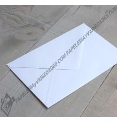 Sobre blanco carta X 10 unidades