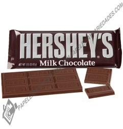 Chocolatina Hersheys milk...