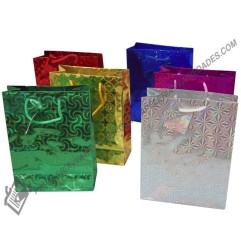 Bolsa de regalo S metalizada
