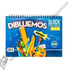 block base 30 argollado para dibujo