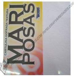 Cartulina gofrada carta Mariposa x3 unidades
