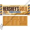 Chocolatina hersheys gold